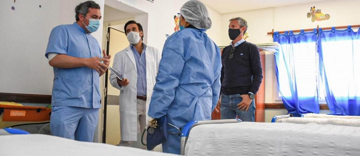 Verifican el funcionamiento del hospital de San Antonio de los Cobres