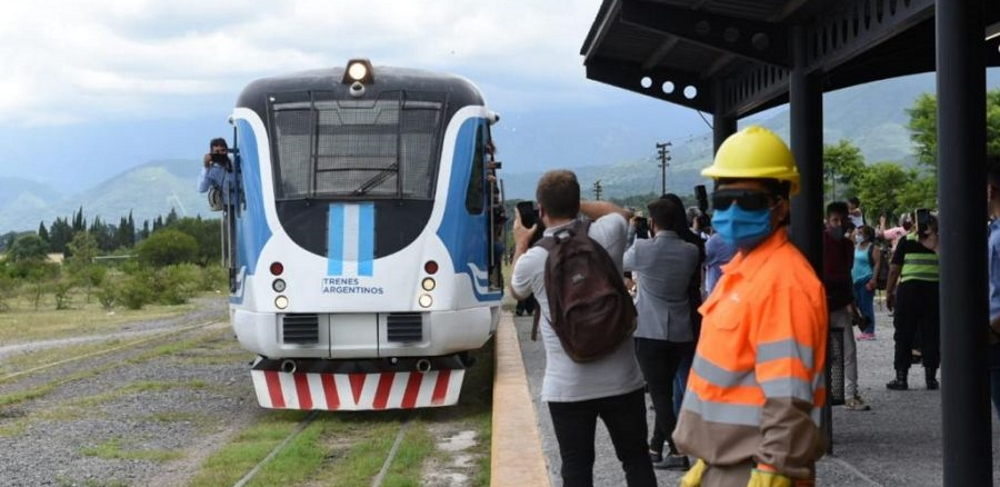 El Tren Urbano al Valle de Lerma funcionará desde el 16 de abril con dos frecuencias