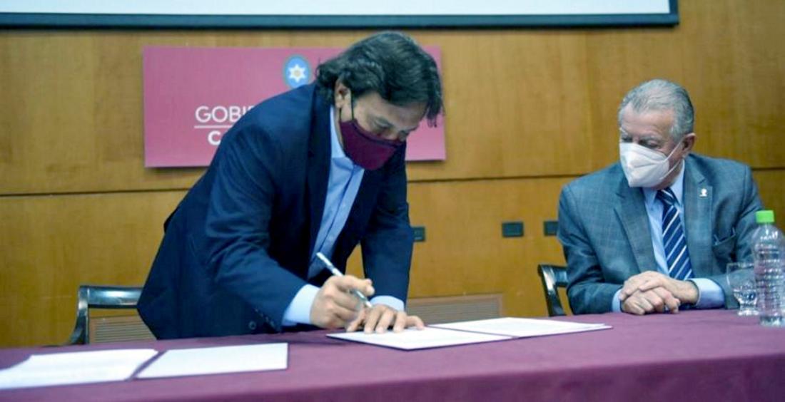El gobernador Sáenz anunció la ejecución de obras viales en la provincia por $7.789 millones