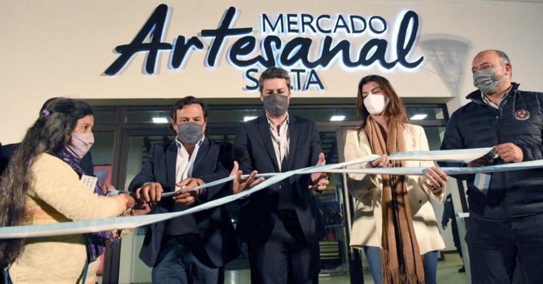 """""""Hoy comienza una nueva etapa para el mercado artesanal"""", sostuvo el gobernador Sáenz"""