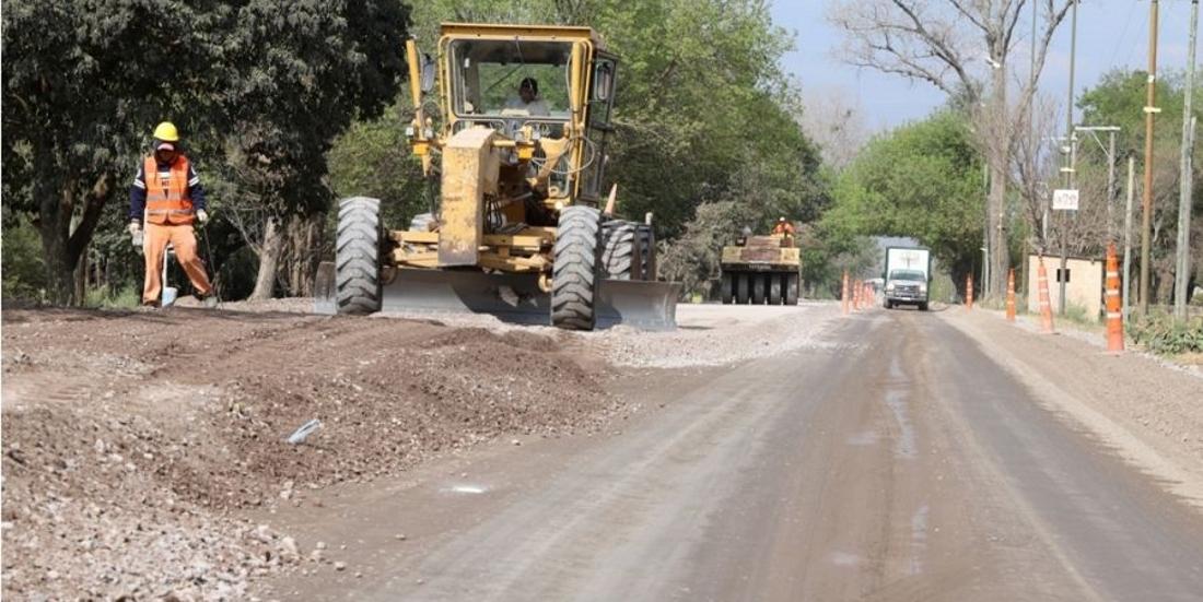 Continúa la obra de repavimentación de la ruta provincial 23